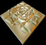 "3D панель ""ROSE of LOVE"""