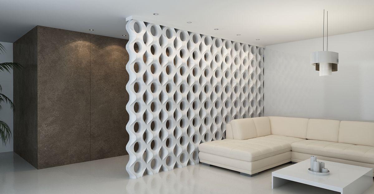 3D Блок для перегородок №3