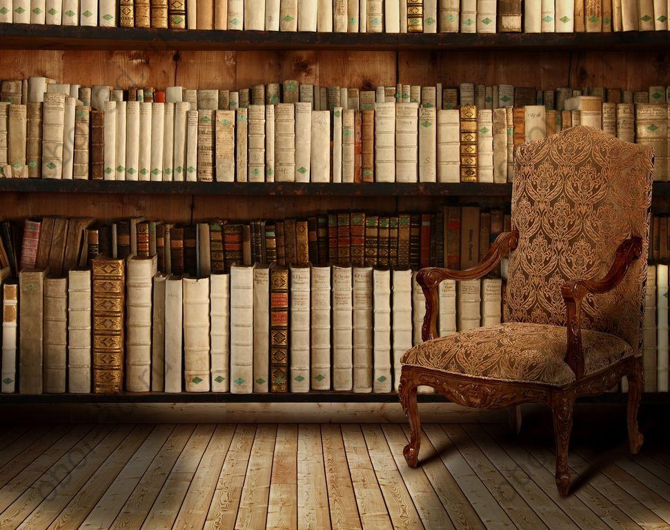 перечисляете картинка книги на полках для стен это время