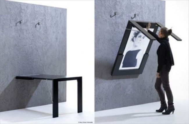 """""""Два в одном"""" - и эстетика и практичность. Картина-стол - что может быть оригинальнее?"""