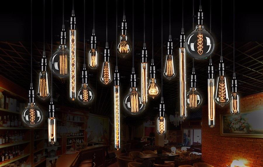 """Оригинальный подвесной светильник """"Ретро Эдисон"""" наполнит атмосферу Вашего дома теплыми тонами и создаст неповторимый уют и ретро обстановку."""