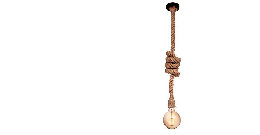 Светильник из каната STRING выполнен из негорючих и экологически чистых материалов. В комплектации светильника применяются только сертифицированные комплектующие.