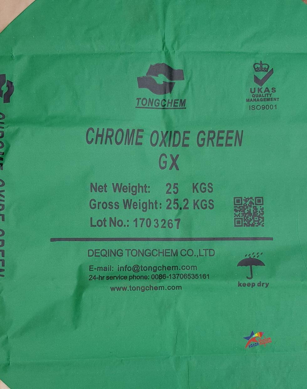 Купить сухие красители и пигменты для бетона и гипса от фабрикиTONGCHEM, цвет - зеленый GREEN