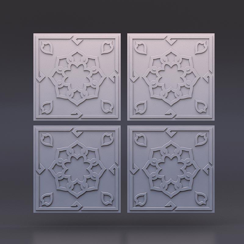 "Фотографии 3D панелей ""САМАРКАНД"""