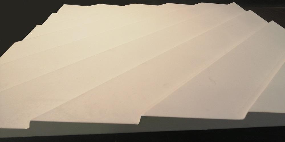 """Гипсовые 3D панели """"BAND"""" - это серия стильных рельефных панелейс лаконичным графическим орнаментом."""