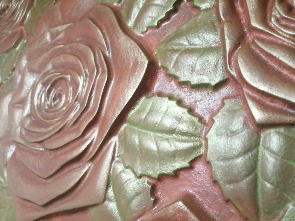 """Гипсовые 3D панелидля стен модели«Bouquet»относятся к серии""""Флора и Фауна"""""""