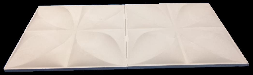 """Фотографии 3D панелей """"Четырехлистник"""" mini"""