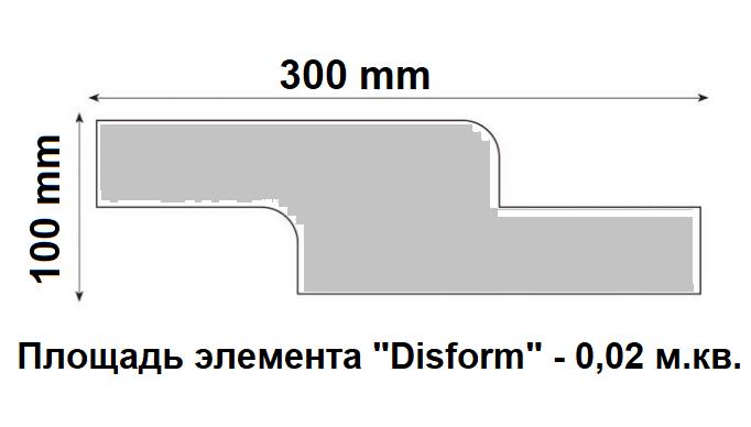 """Характеристикигипсовых панелей серии """"Disform"""""""