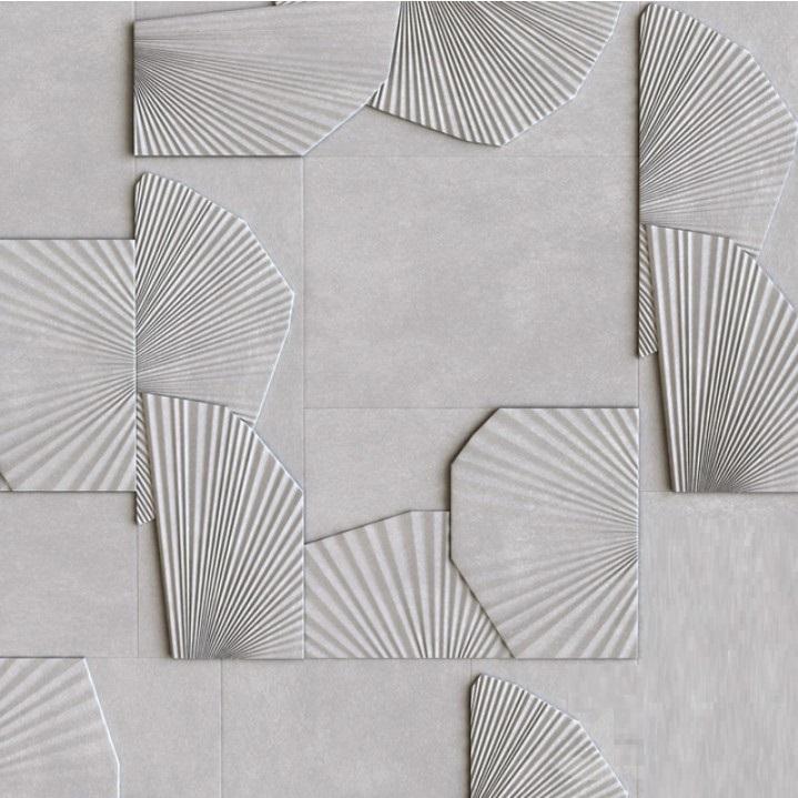 """Гипсовая 3d панель """"Flora"""" - представляет из себя стеновую панель с изысканным и утонченныморнаментом в видеминиатюрной текстуры изображающей листья"""