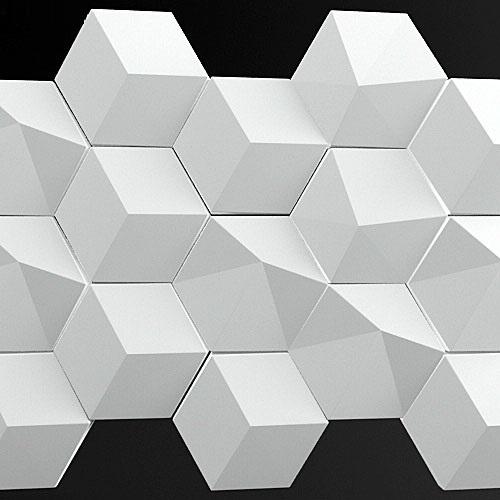 """Гипсовая 3D панель """"ГРАНИ""""с оригинальным 3D стерео эффектом"""