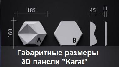 """Характеристикигипсовых панелей серии """"КАРАТ"""""""