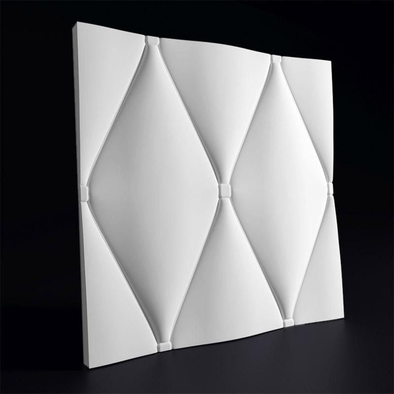 """3D стеновая панель """"Кожа вытянутая большая"""" является продолжением линейки панелей """"Кожа вытянутая"""""""