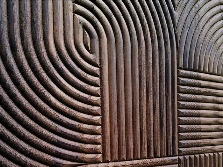 "Гипсовые 3D панелидля стен модели ""КРУГИ""относятся к сериям: АБСТРАКЦИЯи Тематика."