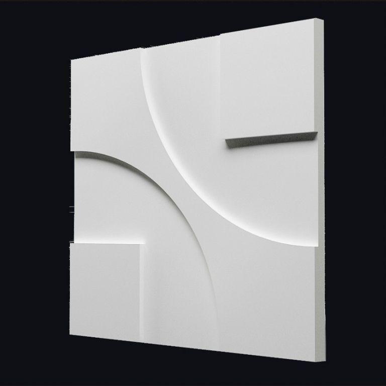 """форму для изготовления 3D панелей из гипса""""МАЯК"""""""