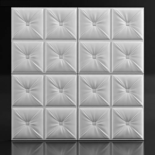 """Гипсовая 3D панель """"Pillow-6"""""""
