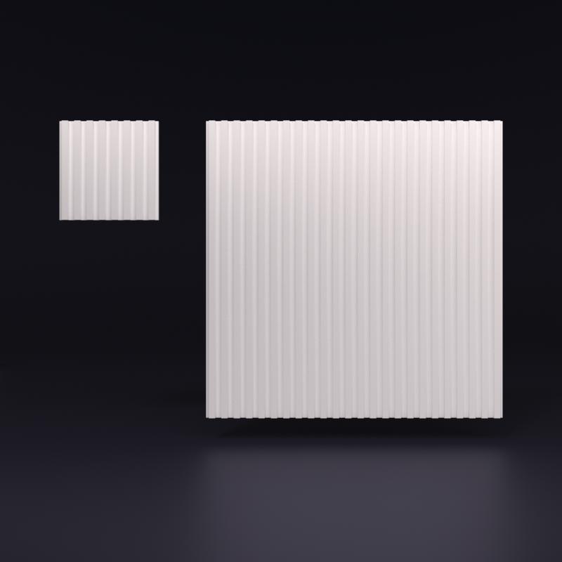 """Гипсовая 3D панель """"RONDO-2"""""""