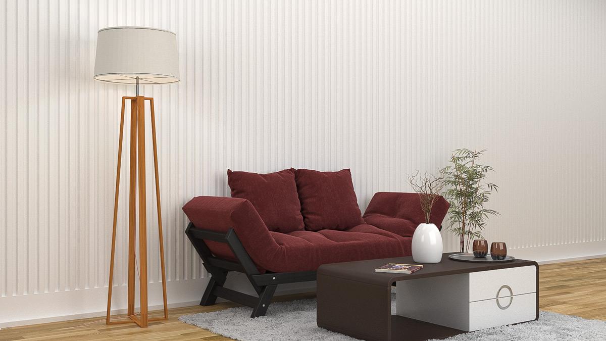 """Гипсовая 3D панель """"RONDO-2""""в интерьере дома по низкой цене"""