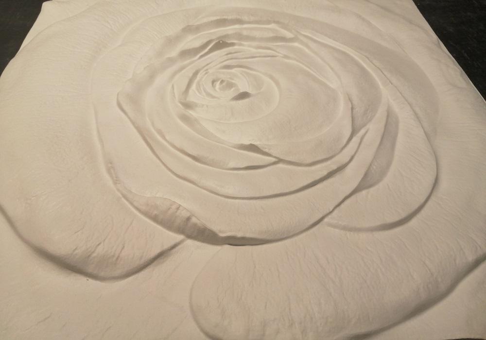 """Гипсовые 3D панелидля стен модели """"Роза"""""""