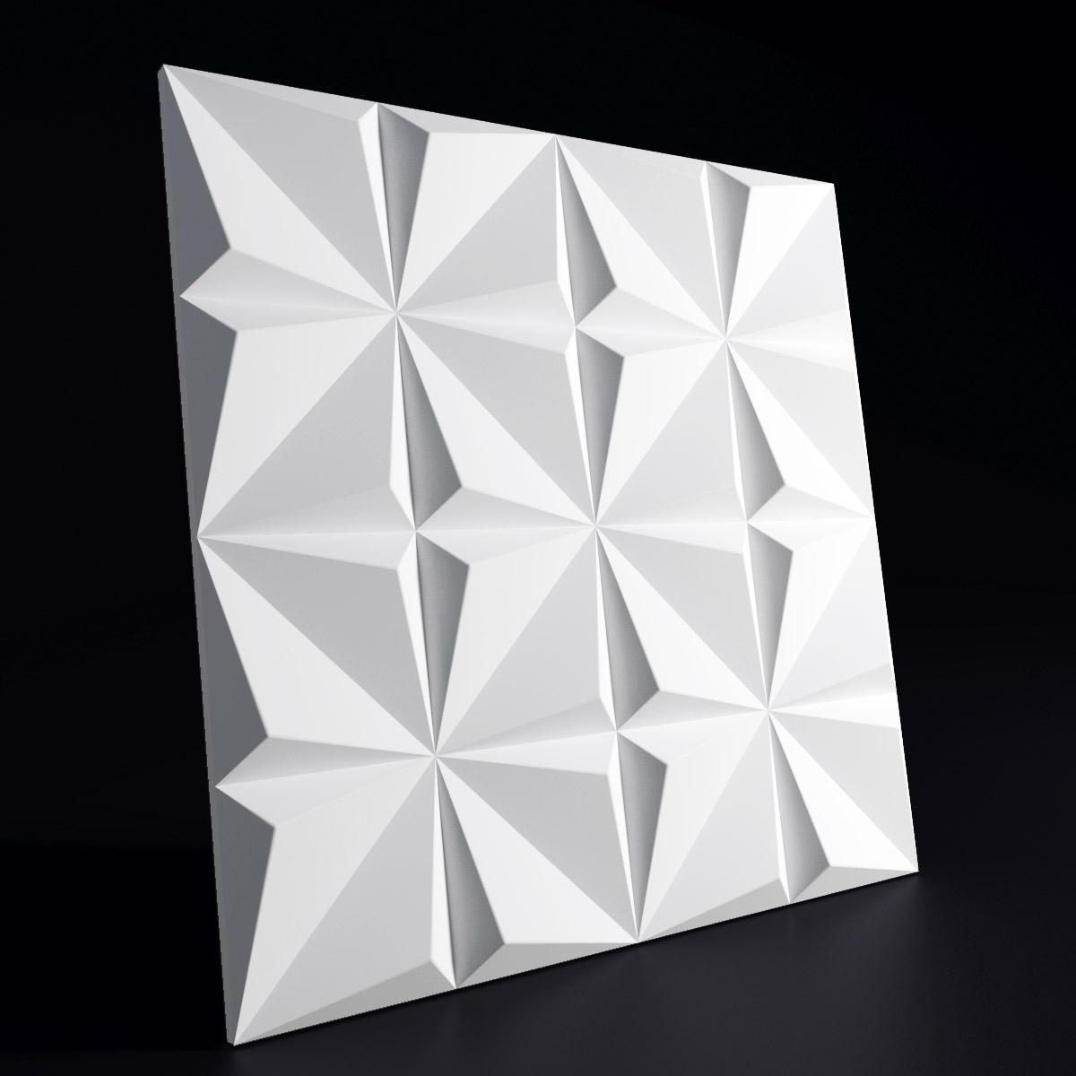 """Представляем Вашему вниманию дизайнерскую 3D панель из гипса """"СЛАЙС""""для интерьерного оформления стен."""