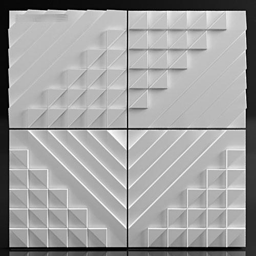 Гипсовые 3D панели – эффектный способ декорирования стен