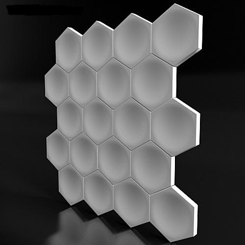 """3D панель """"Ahird"""""""