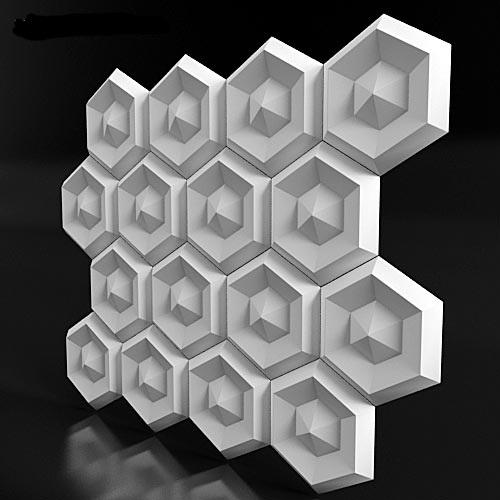 """3D панель """"Alzir"""""""
