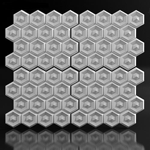 """Форма для 3D панелей """"Alzir"""""""
