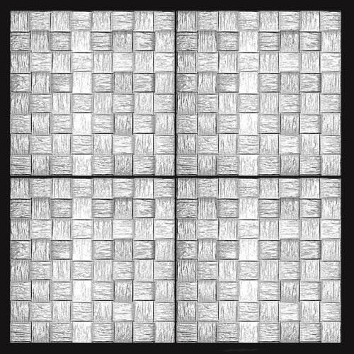 Гипсовые 3D панели Basket – эффектный способ декорирования стен