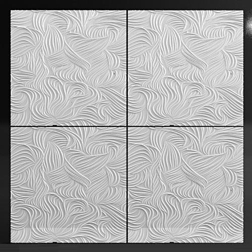 """Гипсовые 3D панели BLIZZARD"""" – эффектный способ декорирования стен 3D панелей """"BLIZZARD"""" в интерьере."""