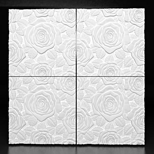 """Фотографии 3D панелей """"Bouquet"""" (Букет):"""