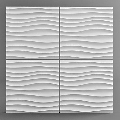 """Фотографии 3D панелей """"<hbp-1"""" в интерьере"""