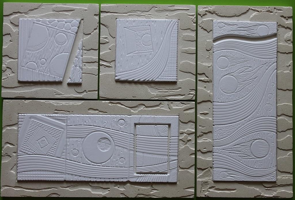 """3D плитка """"Элегия Декор"""" - это декоративные элементы из высокопрочного гипса, которые послужат оригинальным дополнением к декору стен в интерьере Вашего дома."""