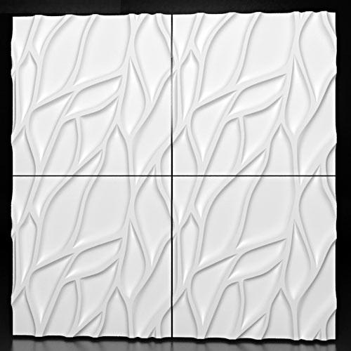 Гипсовые 3D панели ENIF- модель с глубоким рельефом и замысловатым узором,