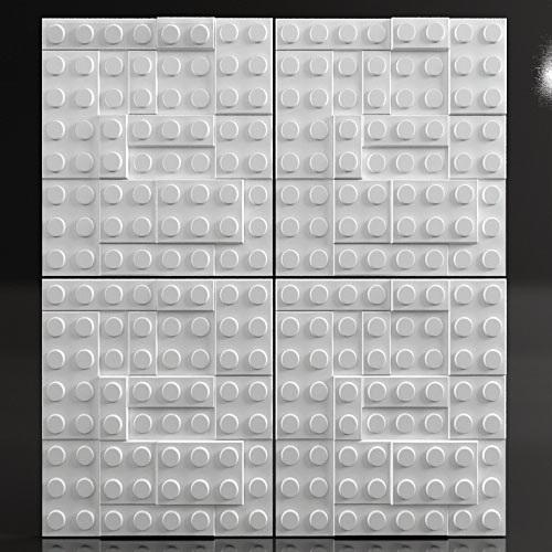 """Форма для 3D панелей """"LEGO"""""""