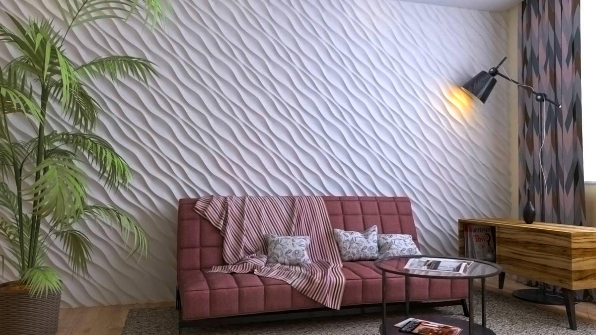стеновые 3 д панели Оазис от производителя