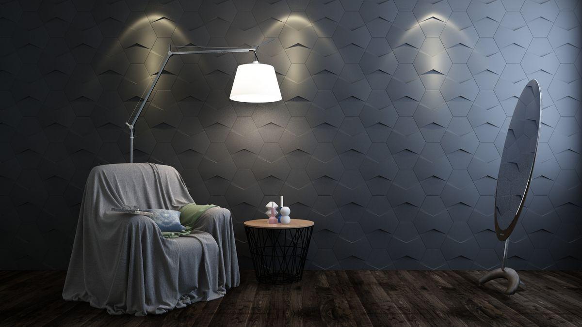 Купить Декоративная 3D плитка Пента - без затирки швов от производителя