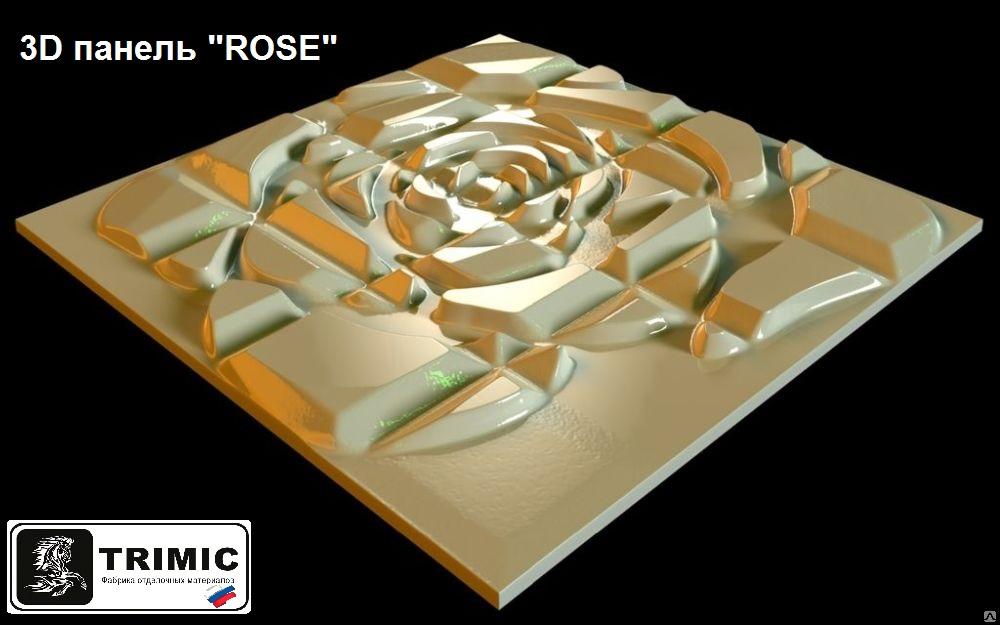 """3D панель """"ROSE of LOVE"""" новинка дизайнерской компании TRIMIC"""