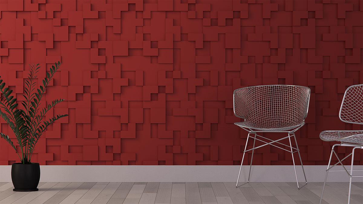 Гипсовые 3D панели city – эффектный способ декорирования стен