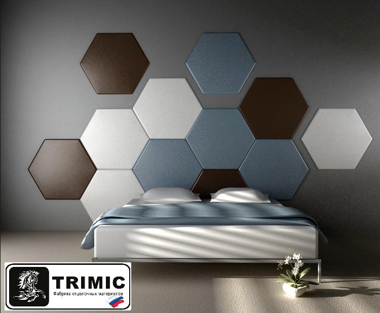 """Гипсовая 3D панель """"Hexagon"""" artpole"""