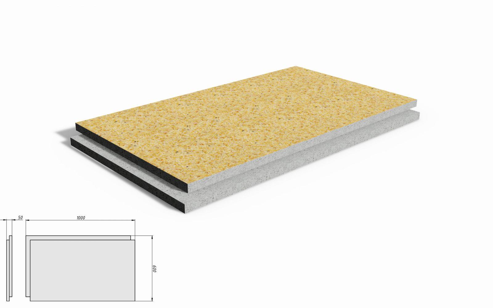 """Фасадная термопанель """"ТеплоЭко"""" (утепление+отделка фасада) - это фасадная система на основе пенополистирола ПСБ-35 , с нанесением фактурного декоративного слоя из натуральной мраморной(каменной) крошки и современных полимерных соединений."""