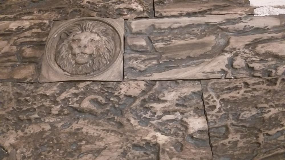 """Декоративная гипсовая плитка """"Гиза"""" изготовлена по современнымтехнологиям с применением экологически чистых материалов."""