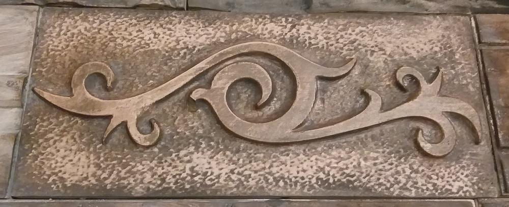 """Плитка гипсовая""""Гиза"""" предназначена не только в качестве материала для декоративной отделки и облицовки стен внутри помещений, но и для наружного оформления стен и цоколя зданий."""