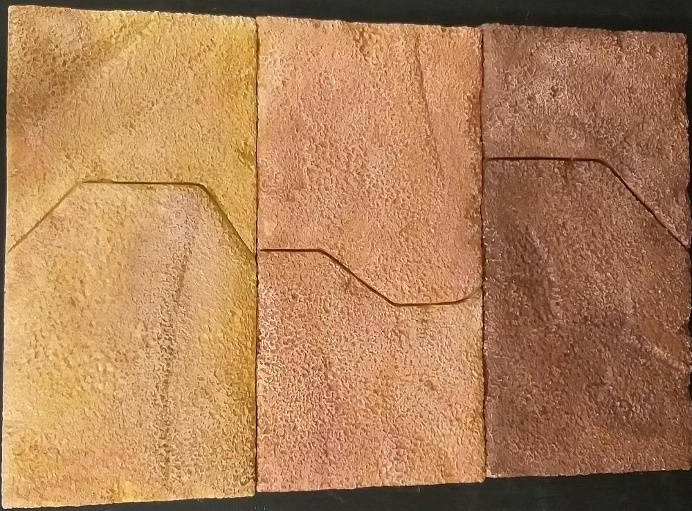 """Фото искусственного камня -""""Песчаник Перуанский"""""""