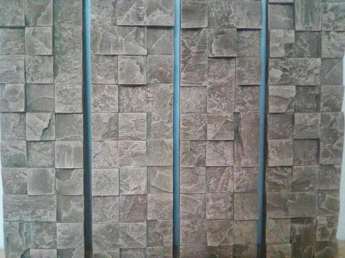 """По желанию клиента, наша фабрика изготавливает серию декоративной плитки """"Пикс Стоун"""" из цемента для декорирования наружных стен, уличного и ландшафтного дизайна."""