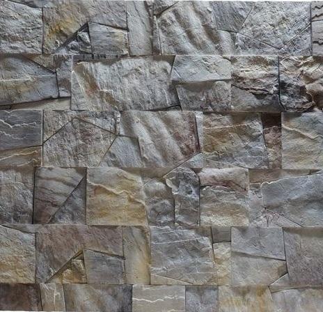 """Фото искусственного камня -""""Сланец фигурный"""""""
