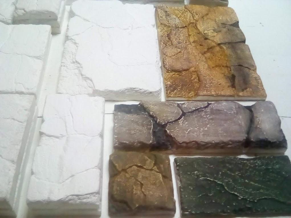 """Плитка """"Старый замок"""" из гипса и бетона для наружной и внешней отделки."""