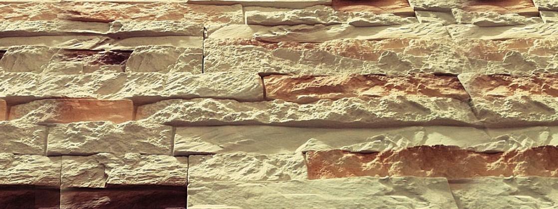 """Форма из полиуретана для изготовления искусственного дикого камня """"Каньон""""."""