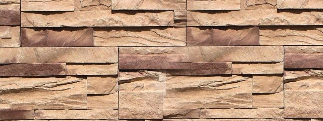 """Форма из полиуретана для изготовления искусственного дикого камня """"Эверест""""."""