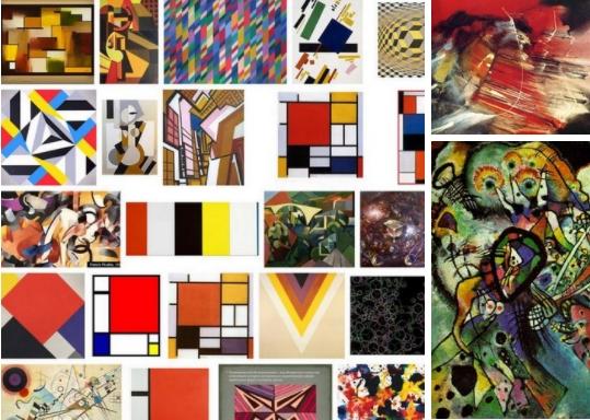 Абстракционизм (от латинского abstractus — удаленный, отвлеченный) — это направление в искусстве, цель которого - не точное реалистичное изображение окружающего мира, а самовыражение с помощью образов и фигур, далеких от существующих в реальности.