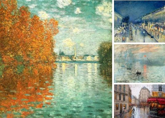 Импрессионизм - Это направление живописи возникло во Франции в середине XIX века. Художники - импрессионисты отказались от традиционных тем в выборе сюжетов для своих картин и воспевали красоту природы, увиденной во всем её великолепии, а также сцены повседневной жизни. В то время картины писали в основном на религиозные или исторические сюжеты, а импрессионисты были своего рода